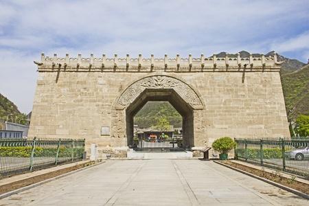 jinshaling: Monument in the Great Wall, Juyongguan, China