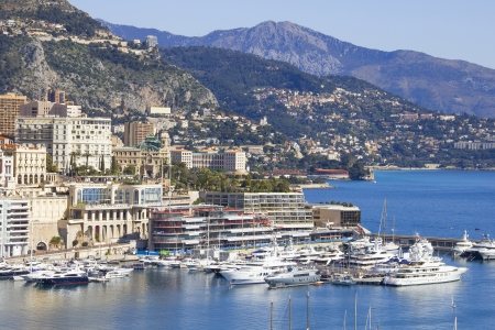 Monaco and the port photo