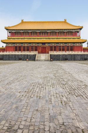 city park pavilion: The Forbidden City in Beijing, China