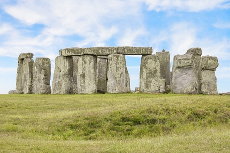 The mysterious Stonehenge photo