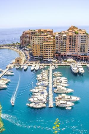 Monaco and yachts