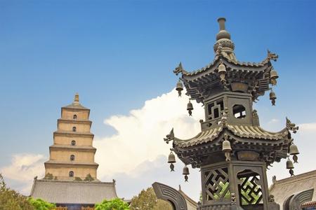 Giant Wild Goose Pagoda, X