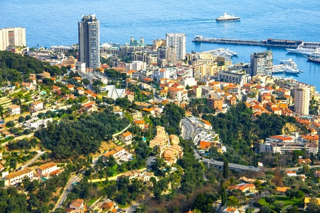 View of Monte Carlo, Monaco photo
