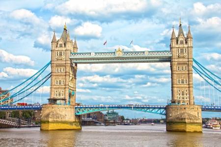 The Tower Bridge, London, UK Standard-Bild