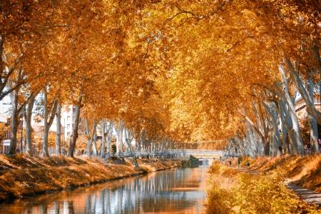 The Canal du Midi, France photo