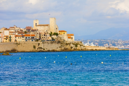 south coast: Antibes, south of France