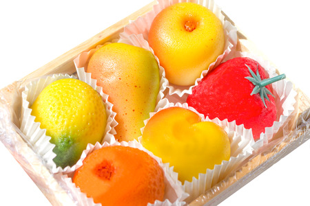Marzipan fruits photo