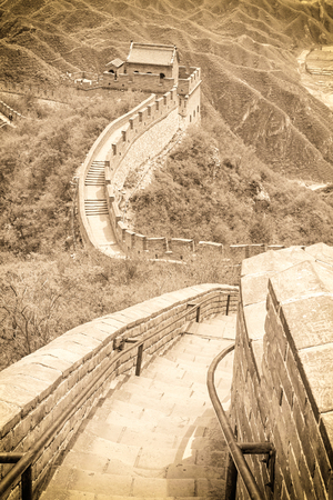 The Great Wall in China Stock Photo - 24566405