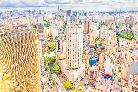 View of Sao Paulo, Brazil 免版税图像