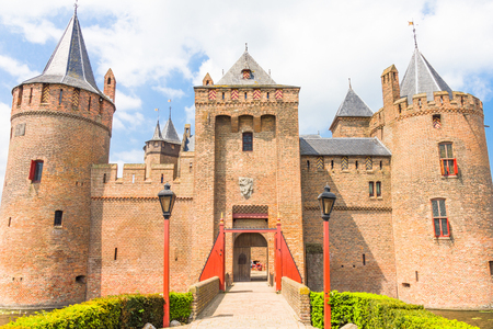 Muiderslot, Castle in Muiden, The Netherlands Stock Photo - 29291560
