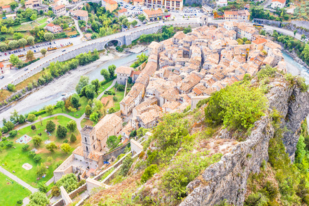 Entrevaux, South of France photo