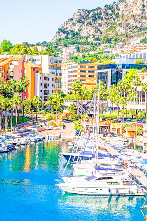 carlo: Port in Monaco Editorial
