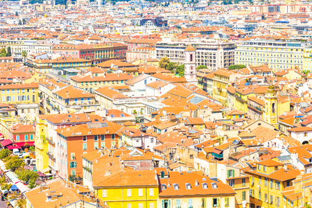 provencal: View of Nice, France