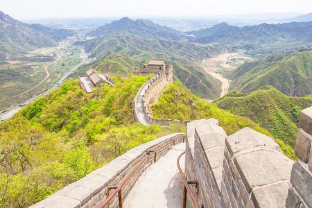 jinshaling: The Great Wall of China Stock Photo