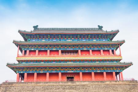 architectural heritage: Beijing Drum Tower
