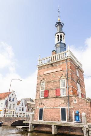 north holland: Grote of Sint-Laurenskerk (St. Lawrence church) in Alkmaar, The Netherlands
