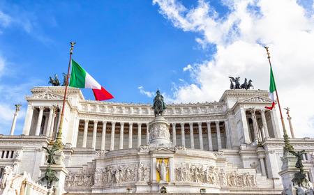 emmanuel: Victor Emmanuel Monument of Rome Italy