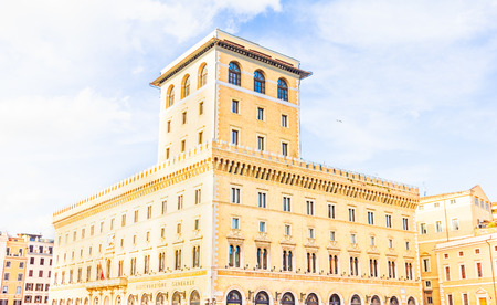 venezia: Building of Palazzo Venezia, Rome, Italy