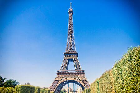 tower: Eiffel Tower in Paris, France