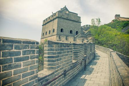 badaling: The Great wall in China