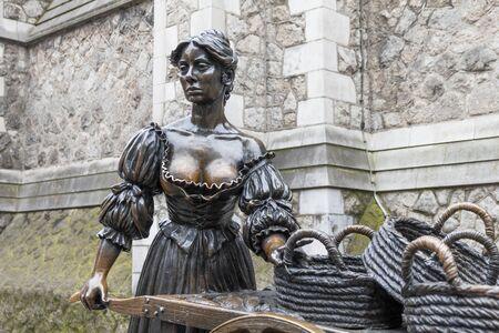 The Molly Malone statue, Dublin, Ireland