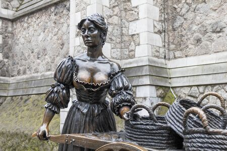 The Molly Malone statue, Dublin, Ireland