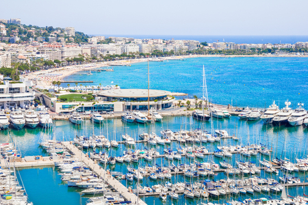 seafronts: Cannes, south of France Stock Photo