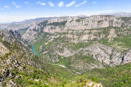 View of the Gorges du Verdon, France Reklamní fotografie