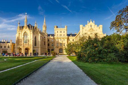 Castle Lednice, Czech Republic Editorial