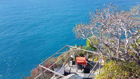 Coast of Vernazza in Cinque Terre, Italy
