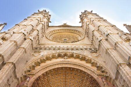 The Cathedral of Santa Maria of Palma, Majorca, Spain