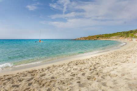 Bodri beach in Corsica, France