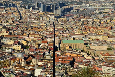 Naples: a city split in two