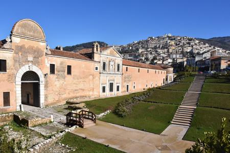 Ancient abbeys of Europe: the Padula Charterhouse