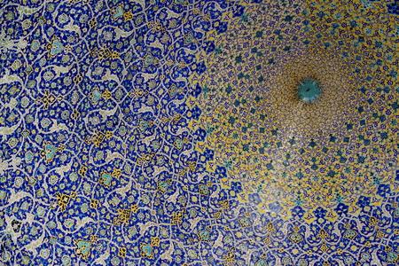 dome: Decorated dome in Iran