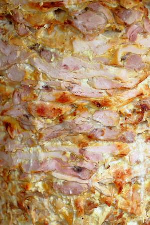 pollo rostizado: Cierre de vista de un Doner Kebab en Irán Foto de archivo