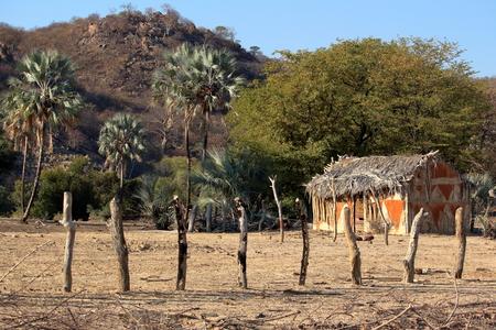 primitivism: African Mud Hut in Namibia.