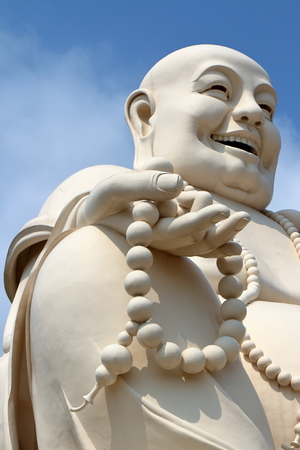 cabeza de buda: Fat Buddha head