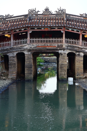 ponte giapponese: Japanese bridge in Hoi An, Vietnam