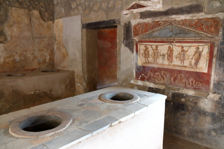Pompeji, Italien: Fresko