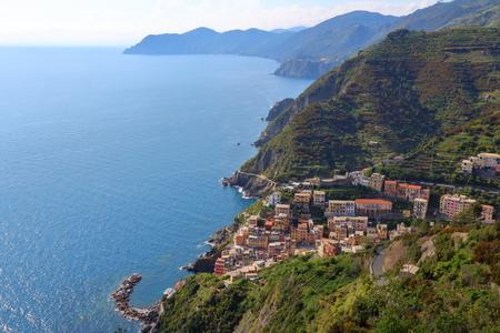 Riomaggiore, Cinque Terre, Italy Imagens
