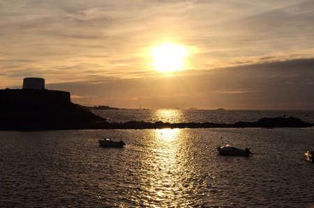 guernsey: Guernsey sunset