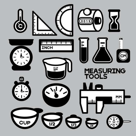 clicker: MEASURING TOOLS BLACK&WHITE