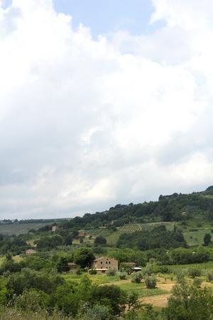 cloudy landscape Standard-Bild
