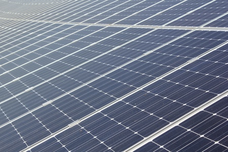 closeup of solar panel Standard-Bild