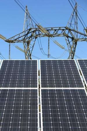 panel solar electric pylon photo