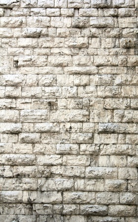 closeup of ancient medieval wall