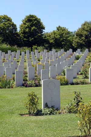 view of war cemetery