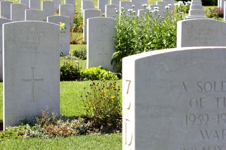 grieving: graves of unknown soldiers Editorial