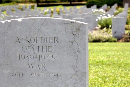 Grab des unbekannten Soldaten Standard-Bild - 10023537